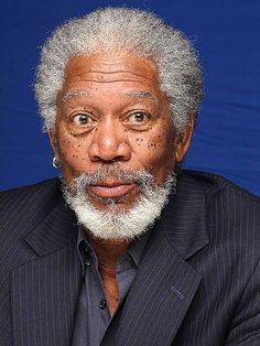 Morgan Freeman!  Oh who don't love them some MORGAN FREEMAN?  C'mon now!  ♥