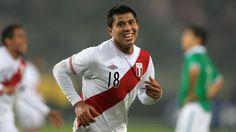 Rinaldo Cruzado se perfila como capitán de Perú ante Inglaterra. May 28, 2014