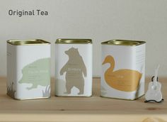 Original Tea--the cutest little tea cans