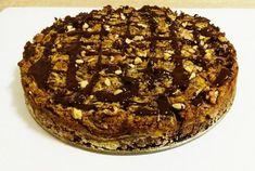 Jablkový koláč bez múky a cukru, recept, Koláče | Tortyodmamy.sk Sweet Desserts, Dessert Recipes, Tiramisu, Food And Drink, Low Carb, Cooking Recipes, Gluten Free, Pie, Sweets