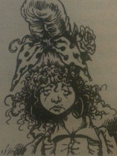 Illustration by Chris Riddell from 'Kasper in the Glitter,' by Philip Ridley