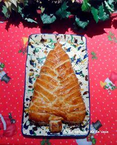El plato principal perfecto para cualquier menú navideño. ¡El emplatado es con forma de árbol de Navidad!