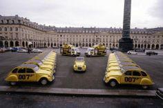 Citroën 2CV6 007 1981 (Présentation de la voiture lors de la sortie du Bond film 'For your eyes only')