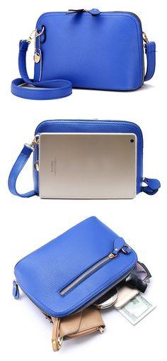 Women PU Leather High-end Shells Crossbody Bag Shoulder Bag http://feedproxy.google.com/fashiongobags