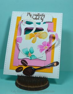 Lovin The Life I Color: My card for the Coffee Loving Paper Crafter's Spring Hop!