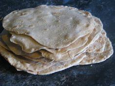 EASY step by step tutorial / recipe for delicious 100% whole wheat tortillas made with coconut oil. YUMMY & HEALTHY!!