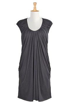 I <3 this Waterfall dress from eShakti