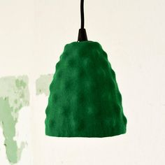 Felt lamp shade for pendant light green Ikea hack Ikea Hack, Felt, Shades, Pendant, Trending Outfits, Unique Jewelry, Handmade Gifts, Green, Etsy