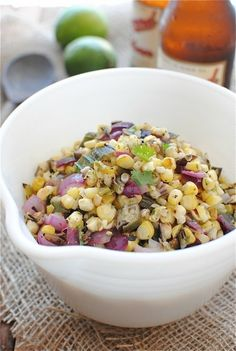 Grilled Corn and Okra Salsa | 37 Delicious Ways To Eat Corn This Summer