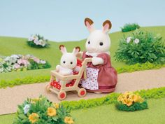 [SF] Pushchair [red] buy on Sylvanian Families. , offer Sylvanian Families at discounted rate in Sylvanian Families Sylvania Families, Calico Critters Families, Baby Pop, Baby Chair, Family Set, Bunny Toys, Parasol, Little Critter, Cute Memes