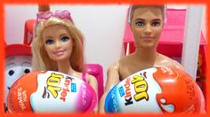 Barbie and Ken Opening Kinder Joy Surprise Egg @ Toys World Kinder Joy Surprise Eggs, Barbie And Ken, Jaba, Watch Video, Christmas Bulbs, Channel, Candy, Toys, Holiday Decor