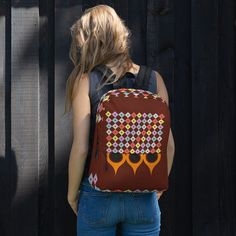 Backpack sold by Love . Shop more products from Love on Storenvy, the home of independent small businesses all over the world. Sports Activities, Sliders, Are You The One, Fashion Backpack, Print Patterns, Laptop, Weather, Backpacks, Pockets