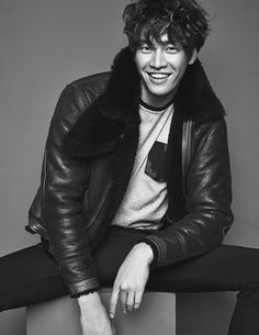 Kim Young Kwang Covers Elle Men Hong Kong