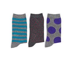 Pack of polka dot and stripe pattern socks oysho socks - Oysho deutschland ...