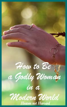 Trying to be a Godly woman in a modern world often feels like running my hand across a barbed wire fence, so how do we stand firm in our faith? via @https://www.pinterest.com/heavennotharvar/