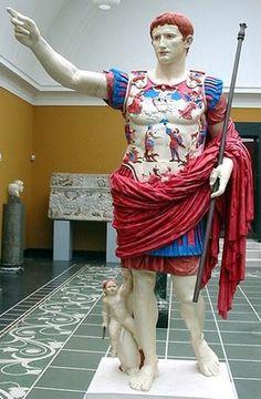 Copia del Augusto de Prima Porta. S. I a.C.