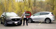 All-New Mazda CX-5 Looks Confident In Fight Against Toyota RAV4 #Mazda #Mazda_CX_5