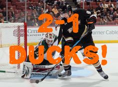 Yaas Ducks winning 2-0 in the series so farkeep it up boys