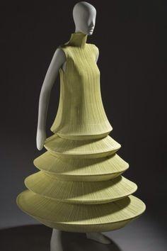 Minaret dress by Issey Miake