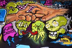 Graffiti Readings Series The golden rules demands that you wash your hands often to kill the deadly bacterias, viruses and germs. Golden Rules, Urban Art, Graffiti, Room Ideas, Hands, Street Art, Graffiti Illustrations, City Art, Street Art Graffiti