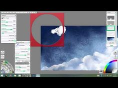 Into The Stars - ArtRage Watercolor Tutorial Part 1 - YouTube