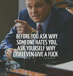 The Wolf Of Wall Street Most Famous Quotes - Zitate / Aufmunterung / KontraK - Quotes Great Quotes, Quotes To Live By, Me Quotes, Funny Quotes, Inspirational Quotes, Fun Life Quotes, Famous Motivational Quotes, Rich Quotes, Most Famous Quotes