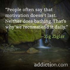 Wise words from @thezigzigler to get you over this #humpday! #motivation #success #inspiration #sobriety