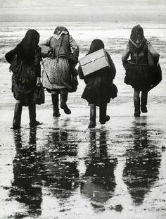 Women from Szék (photo by Korniss Péter) / Széki asszonyok (Korniss Péter fotója) #transpan #vintage #transylvania