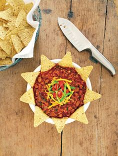 Taco soup. Make it gluten free by changing the bulgur to quinoa