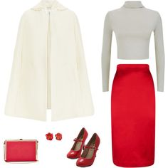 """Strawberries and Cream"" by tara-starlet on Polyvore"