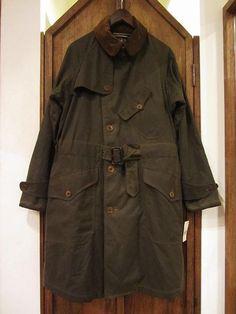 RRL等の通販サイト【RHYTHM】 RRL LIMITED EDITION(ダブルアールエルリミテッドエディションOILED CLOTH TRNCH COAT (オイルドクロストレンチコート)の販売ページ