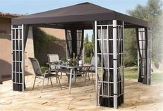 Pavillon Gazebo, Outdoor Structures, Room, Furniture, Home Decor, Homemade Home Decor, Kiosk, Rooms, Home Furnishings