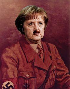 PHILOSOPHICAL ANTHROPOLOGY: Top secret: Angela Merkel Hitler's murky geneology...