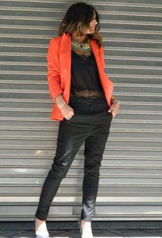 Du xuân 2015 mới gam màu cam cá tính - Thời trang nữ - Mafada News