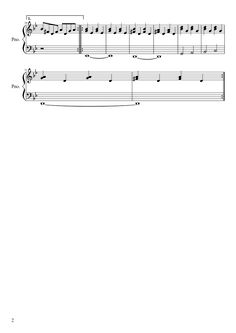 Sheet music made by Nicolaslemeur for Piano