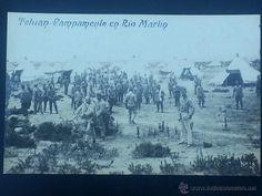 POSTAL MARRUECOS TETUAN CAMPAMENTO EN RIO MARTIN - Foto 1