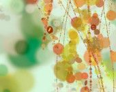 Hanging Beads - art print