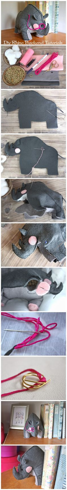 Rhino Bookend Tutorial