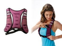 Double the effort double the results... Weight vest for extra endurance during workout.