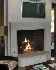 Old World Stoneworks - Contemporary style Manhattan Cast Stone Fireplace Mantel Modern Fireplace Mantels, Stone Fireplace Mantel, Old World, Contemporary Style, Manhattan, Family Room, Room Ideas, It Cast, Fit