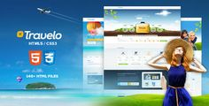 Travelo - Responsive Travel Booking Site Template - Travel Retail http://www.soaptheme.net/html/travelo/index.html