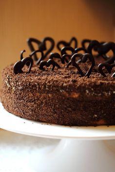 Этот торт я делала для конкурса , который проводит 7chocolat. Рецепт был найден в интернете, разрез меня покорил сразу же. Рецепт немного видоизменила под себя. Торт…