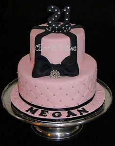 Megans 21st Birthday Cake