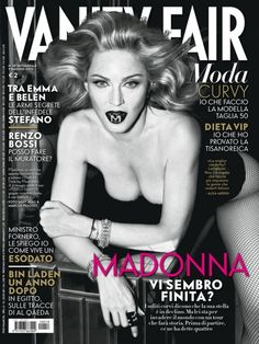 PREVIEW: MADONNA FOR VANITY FAIR ITALIA #18, MAY 2012