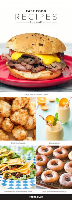 27 fast food dishes you can totally make at home: