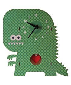 Clockzilla Pendulum Wall Clock #zulily #zulilyfinds