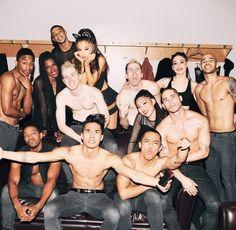 The Honeymoon Tour. Ariana Grande and The Crew.