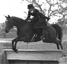 Sidesaddle jumping