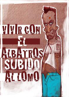 ILUSTRANDO: VIVIR CON EL ALBATROS SUBIDO AL LOMO