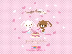 Sugarbunnies (Sanrio) Wallpaper